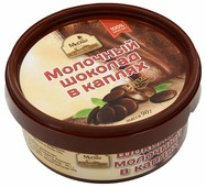 Шоколад Mr. Cho молочный в каплях 27%