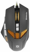 Мышь Defender Warhead GM-1780 Black USB