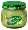 Пюре Heinz кабачки (с 4 месяцев) 80 г, 12 шт