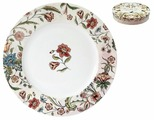 Коралл Набор обеденных тарелок Butterfly Flora 24 см 4 шт