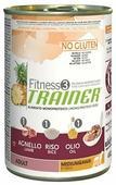 Корм для собак TRAINER Fitness3 No Gluten Adult Medium&Maxi Lamb and rice canned