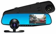 Видеорегистратор Zodikam Mirror Z10-D, 2 камеры