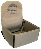 Автогамак для собак Melenni Стандарт Princess 45х45х57 см