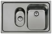 Врезная кухонная мойка smeg SP7915S 79х50см нержавеющая сталь