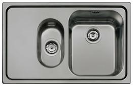 Врезная кухонная мойка smeg SP7915S