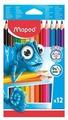 Maped Цветные карандаши Pulse Jumbo 12 цветов (834352)