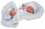 Кукла Antonio Juan Матео в голубом 42 см 5019B