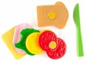 Набор продуктов с посудой Пластмастер Бутерброд 21031