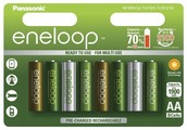 Аккумулятор Ni-Mh 1900 мА·ч Panasonic eneloop tones botanic AA