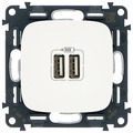 USB розетка Legrand Valena Allure 754995, белый