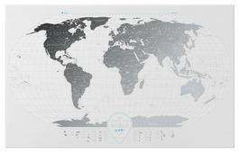1DEA.me Скретч Карта Мира Air World