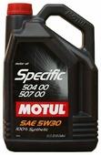 Моторное масло Motul Specific 504 00 507 00 5W30 5 л