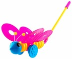 Каталка-игрушка Пластмастер Бабочка (12001)