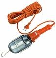 Светильник-переноска LUX ПР-60-05 оранжевый 5 метров 60W E27, металл. кожух (без лампы)