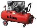 Компрессор масляный KIRK K2070Z/100, 100 л, 4.1 кВт
