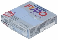 Полимерная глина FIMO Effect запекаемая голубой агат (8020-386), 57 г