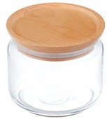 Емкости для сыпучих продуктов Luminarc Mania Bois 0,5л Цвет: Прозрачный [48801]