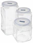 Glasslock Набор контейнеров для сыпучих продуктов IG-535 3 шт.