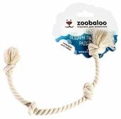 Канат для собак Zoobaloo Грейфер Четыре узла 28см
