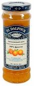 Джем St. Dalfour апельсиновый без сахара, банка 284 г
