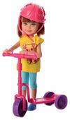 Кукла Defa Lucy Малышка на самокате, 16 см, 8294