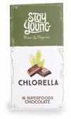 Шоколад Stay Young Chlorella горький с хлореллой 54% какао и 16 суперфудов