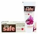 Зубная паста Lion Kids Safe клубника 3-12 лет