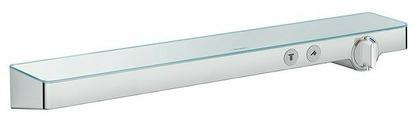 Смеситель для душа hansgrohe ShowerTabletSelect 700 13184000 однорычажный с термостатом встраиваемый