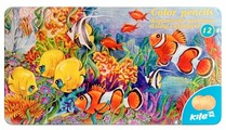 Kite цветные карандаши Животные, 12 цветов (K16-058)