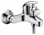 Смеситель для ванны с душем WasserKRAFT Isen 2601 однорычажный лейка в комплекте