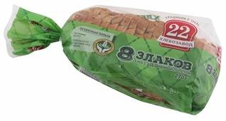 Хлебозавод № 22 Изделие хлебобулочное 8 злаков в нарезке 270 г