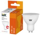 Лампа светодиодная IEK ECO софит 3000K, GU10, PAR16, 5Вт