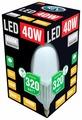 Лампа светодиодная REV 32418 8, E27, T120, 40Вт