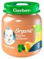 Пюре Gerber Organic Груша и банан (с 6 месяцев) 125 г, 1 шт.