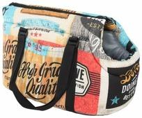 Переноска-сумка для кошек и собак PRIDE Трэвел Кантри 43х24х24 см