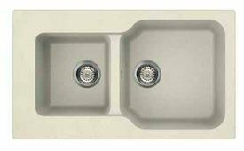 Врезная кухонная мойка OMOIKIRI MARU 86-2 86х50см искусственный гранит