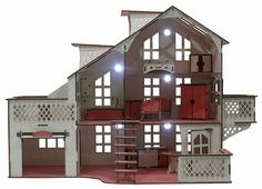 IWOODPLAY кукольный домик IGKD-03-01