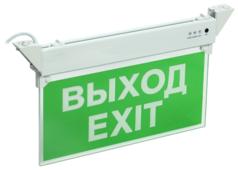 "Табло IEK ССА 2101 3ч 3Вт IP20 ""ВЫХОД-EXIT"""