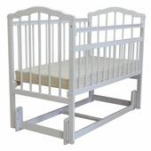 Кроватка Малика Melissa-3 (маятник продольный)