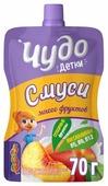 Питьевой йогурт Чудо детки Смуси с персиком 2.1%, 70 г