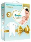 Pampers Подарочный набор Premium Care для новорожденных, размер 2, 4-8кг, детский комбинезон