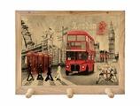 Вешалка Gift'n'Home для полотенец Лондон 3 крючка