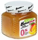 Джем низкокалорийный BombBar Манго-Банан без сахара, банка 250 г