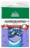 Губка кухонная Domi Antigraffio 2 шт