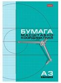 Миллиметровая бумага Hatber 8Бм3 (A3), 80г/м², 8 л.