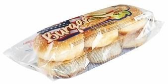 Quickbury Булочки для бургеров пшеничные с кунжутом 300 г