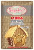 Мука Эндакси соевая полуобезжиренная дезодорированная, 0.4 кг