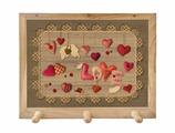 Вешалка Gift'n'Home для полотенец Сердечки любви 3 крючка