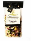 La Novella Макароны La Ceppaia Фарфалле разноцветные, 250 г