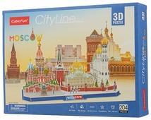 Пазл CubicFun Достопримечательности Москвы (MC266h), 204 дет.